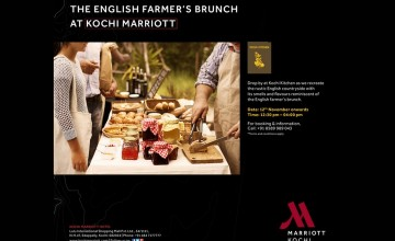 The English Farmer's Brunch By Kochi Marriott