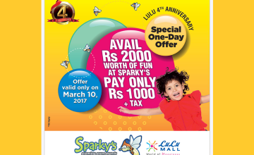 Special Anniversary Offer by Lulu Sparky's