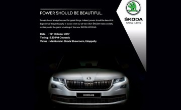 Launch of New Skoda Kodiaq
