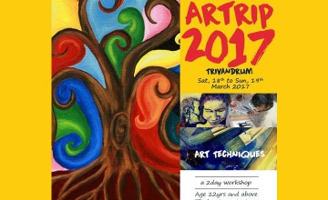 Artrip 2017 - Water Colours Workshop