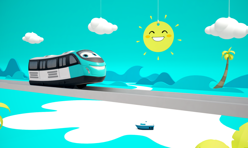 """""""Dad, will the Kochi metro fly like a roller coaster?"""""""