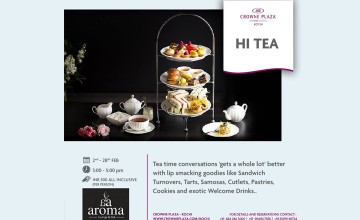 HI TEA at Crowne Plaza