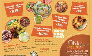 Exciting Food Offers at Chillys restaurant