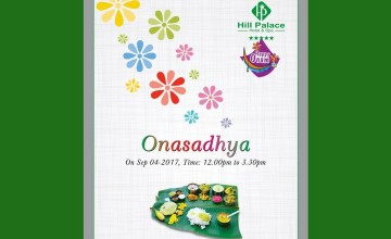 Onasadhya At Hill Palace Hotel & Spa