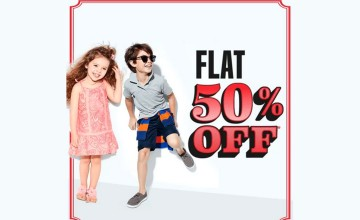 Flat 50% Off at The Children's Place