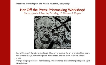 Hot Off The Press - Printmaking Workshop
