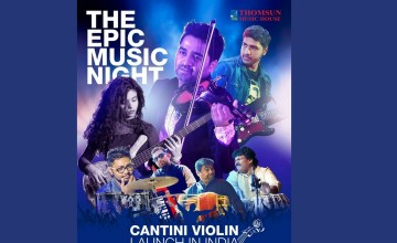 Cantini violin Launch in India