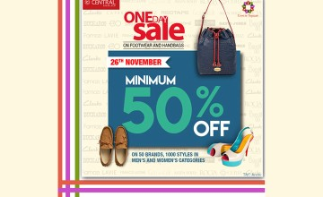 One day Sale - Exciting Offers at Central