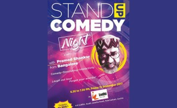 Stand Up Comedy Night With Pramod Shankar