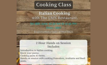 Cooking Classes @The LMN