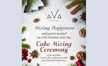Mixing Happiness - Cake Mixing Ceremony