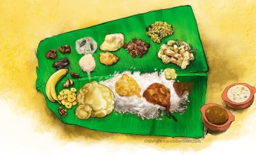 Experience A Traditional  Sadya This Vishu
