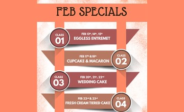 Feb Specials - Cooking Classes