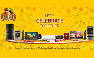 Exciting Onam offers from LG