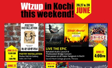 Weekend Kochi June 26-28 2015