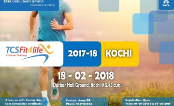 TCS Fit4life Corporate Challenge Kochi