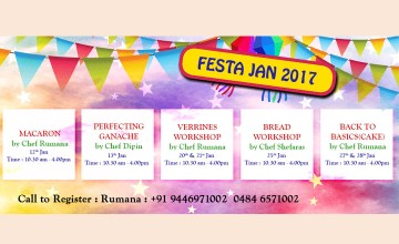 Festa Jan 2017 - Food Workshops