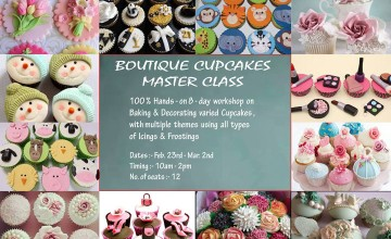 Boutique Cupcakes Master Class by Manna
