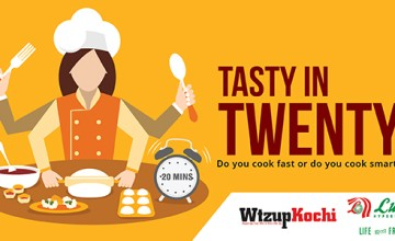 Tasty in Twenty by Wtzup Kochi and Lulu Hyper Market