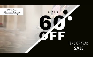 Upto 60% Off at Pranaah