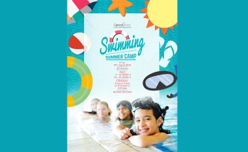 Swimming Lessons at casino this Summer