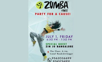Zumba Fitness Party for a Cause