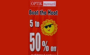 Exciting Offers from Optic Mannath