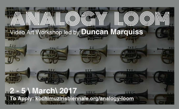 Analogy Loom - Video Art Workshop