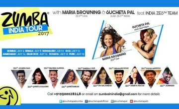 Zumba® Master Class India Tour with Maria & Sucheta