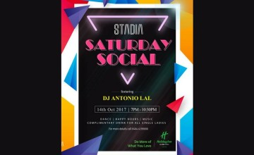 Saturday Social By Holiday Inn