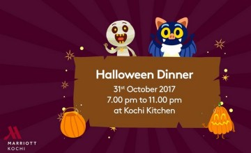 Halloween Dinner At Kochi Kitchen