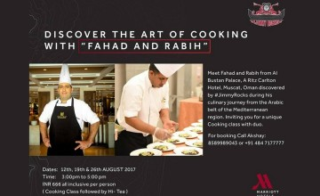 Discover The Art Of Cooking With Fahad And Rabih