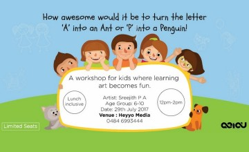 Fun Art Workshop for Kids by Heyyo Media