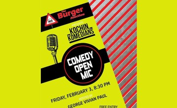 Comedy Open Mic by Kochin Komedians