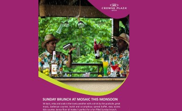 Sunday Brunch at Mosaic This Monsoon