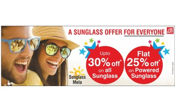 Sunglass offer from Lawrence and Mayo