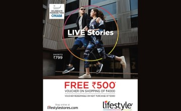 Get Free Voucher Of Rs: 500/- On Shopping From Lifestyle