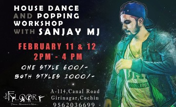 House Dance and Popping Workshop