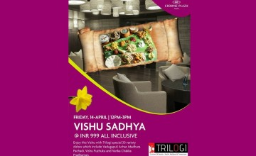 Vishu Sadhya by Crowne Plaza