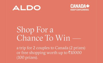 Shop for a Chance to Win from Aldo