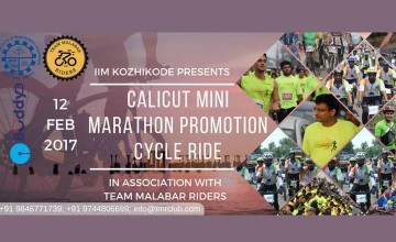 Marathon Promotion Cycle Ride