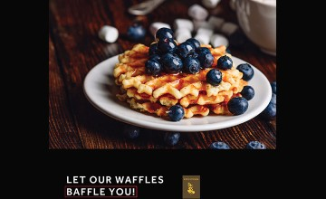 Let Our Waffles Baffle You