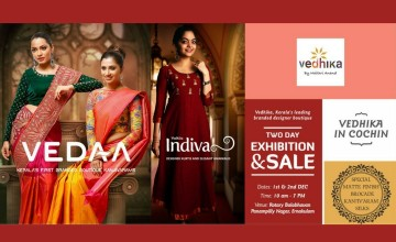 Vedhika In Kochi - Exhibition