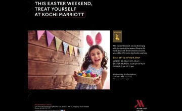 Easter Weekend at Kochi Marriott