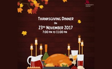 Thanksgiving Dinner By Kochi Marriott Hotel