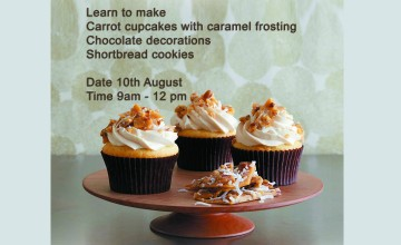 Baking Workshop with Sugarcraft