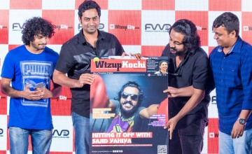 WtzupCity Live! WtzupKochi Aug- Sep Issue cover launch with debut director Sajid Yahiya