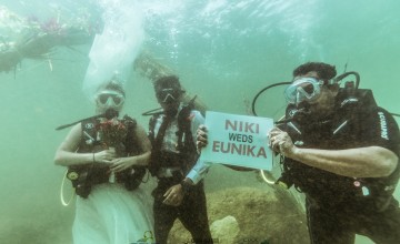 When Kerala played host to India's first underwater wedding