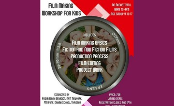 Film Making Workshop For Kids