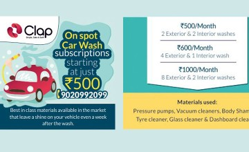 On Spot Car wash Subscriptions